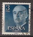 Sellos de Europa - España -  ESPAÑA SEGUNDO CENTENARIO USD Nº 1159 (0) 3P AZUL FRANCO