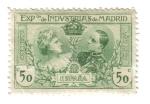 Stamps Spain -  Exposición de Industrias de Madrid (1907)