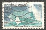 Sellos de Europa - Francia -   1519 - Exposición intgernacional de Montreal, Pabellón frances