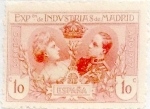Stamps Spain -  10 céntimos 1907