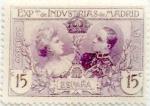 Sellos de Europa - España -  15 céntimos 1907