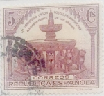 Stamps : Europe : Spain :  5 céntimos 1931