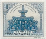 Stamps Spain -  40 céntimos 1931
