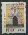 Sellos del Mundo : America : Perú :  S1120 - Portadas de Lima