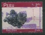 Sellos del Mundo : America : Perú :  S1230 - Galena
