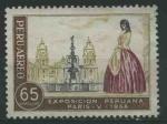 Sellos del Mundo : America : Perú : SC145 - Catedral de Lima y señorita