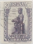 Stamps Spain -  20 céntimos 1931
