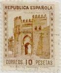 Sellos de Europa - España -  10 pesetas 1932