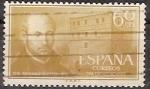Sellos de Europa - España -  ESPAÑA SEGUNDO CENTENARIO USD Nº 1167 (0) 60C OCRE IGNACIO DE LOYOLA