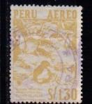Sellos de America - Perú -  Aves. Guano de islas