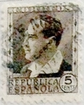 Stamps Spain -  5 céntimos 1934