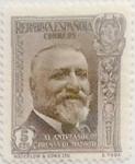 Sellos de Europa - España -  5 céntimos 1936