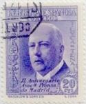 Sellos de Europa - España -  20 céntimos 1936