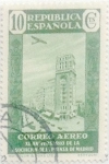 Stamps Spain -  10 céntimos 1936