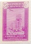 Stamps Spain -  25 ceñimos 1936