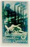 Sellos de Europa - España -  1,25 pesetas 1938