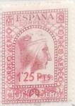 Sellos de Europa - España -  1,25 pesetas sobre 25 céntimos 1938