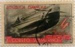 Sellos de Europa - España -  4 pesetas 1938