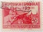 Sellos de Europa - España -  45 céntimos 1938