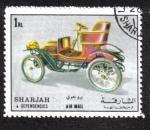 Stamps United Arab Emirates -  Sharjah, Carros Antiguos