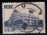 Stamps Peru -  Ministerio de salud pública