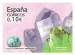 Stamps Spain -  COLECCIONISMO  DE  MINERALES
