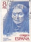 Stamps Spain -  Fernan Caballero- escritora  (16)