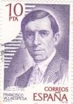 Stamps Spain -  Francisco Villaespesa- poeta  (16)