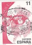 Sellos de Europa - España -  Salvador Espriu -poeta (16)