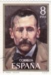 Sellos de Europa - España -  Benito Pérez Galdós -novelista  (16)