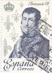 Stamps Spain -  Fernándo VII  (16)