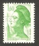 Stamps France -  2219 - Liberté de Gandon