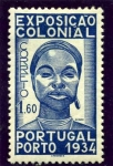 Sellos de Europa - Portugal -  Exposicion Colonial de Oporto