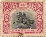Sellos de America - Guatemala -  J. RUFINO BARRIOS