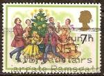 Sellos de Europa - Reino Unido -  Navidad. carol-cantantes.