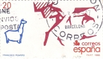 Stamps Spain -  Francisco Pizarro  (16)