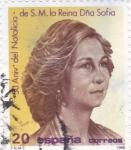 Sellos de Europa - España -  50 Anivº del Natalicio de S.M. la Reina Sofía (16)