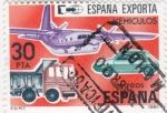Stamps Spain -  España exporta. vehículos  (16)