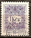 Sellos del Mundo : Europa : Checoslovaquia : Sello Fiscal.