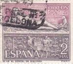 Stamps Spain -  El Doncel de Sigüenza (16)