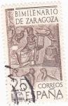 Sellos de Europa - España -  Bimilenario de Zaragoza (16)