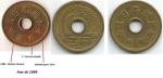 Monedas de  -  -  Moedas Brasileiras e de outros países.