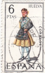 Stamps Spain -  Traje regional de Huelva (16)