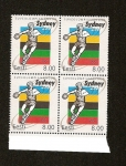 Stamps Europe - Estonia -  Juegos Olimpicos Sydney 2000