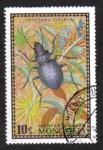Sellos del Mundo : Asia : Mongolia : Calosoma fischeri