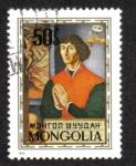 Sellos del Mundo : Asia : Mongolia : Nicolás Copérnico, astrónomo y matemático