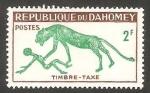 Stamps : Africa : Benin :  Dahomey - 33 - Sello Tasa
