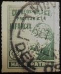 Stamps of the world : Mexico :  Haga Patria Protección a la Infancia
