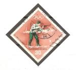 Stamps Hungary -  10th  JUEGOS  OLÌMPICOS  DE  INVIERNO.  BIATHLON.