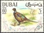 Sellos de Asia - Emiratos Árabes Unidos -  AVES.  FAISÀN.
